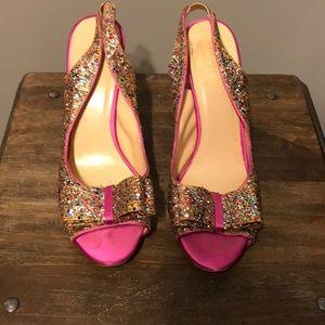 Kate Spade sparkle heels